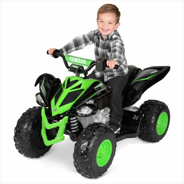 Yamaha Kids Atv >> Yamaha Raptor 700r Kids Ride On 4 Wheel Atv 12 Volt Battery Powered