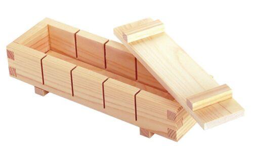 YAMAKO Sushi PRESS Wood Box SUSHI MAKER Oshizushi VEGESUSHI 5pic from JAPAN F//C