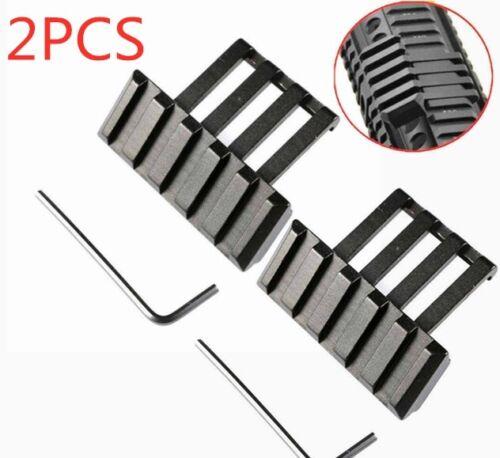 5 Slot Low Profile 45 Degree Offset Angle Scope Mount  Picatinny Weaver Rail