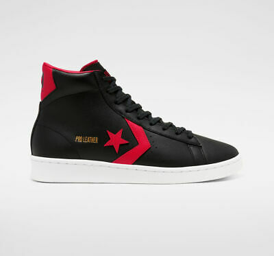 Converse Pro Leather Chicago All Star City Pack Banned Bred Black Red 166811C   eBay
