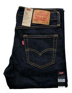 Levis-511-Slim-Fit-Men-039-s-Stretch-Jeans-Levi-039-s-Hollow-1042