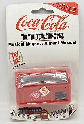 1997 Coca-Cola Tunes Musical Magnet Coca-Cola Radio #51507 NEW Sealed
