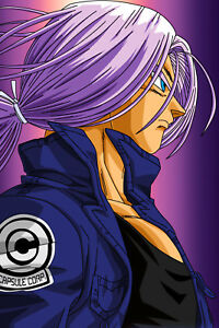 dragon ball z poster trunks mirai 12inx18inches free shipping ebay