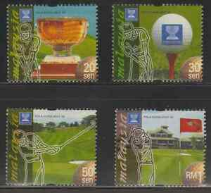245-MALAYSIA-1999-WORLD-CUP-GOLF-CHAMPIONSHIP-SET-FRESH-MNH