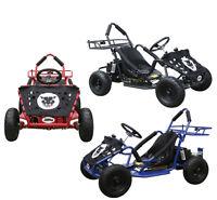 Electric go-kart 48v 1000 Watt Electric 3 speeds Go Kart drift go-cart Brushless