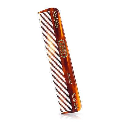 Kent Slim Jim Small Mens Handmade Sawcut 120mm Fine Toothed Pocket Hair Comb