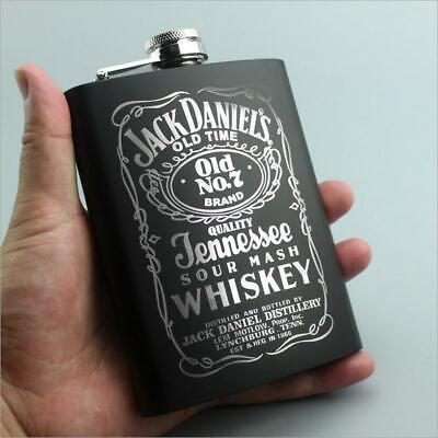 8oz Whisky Alcohol Flagon Stainless steel Flask Hip Cap Pocket wine bottle