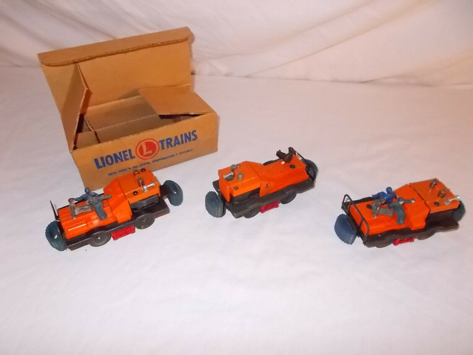 3 LIONEL GANG CARS START YOUR OWN GANG   LOT  H-40