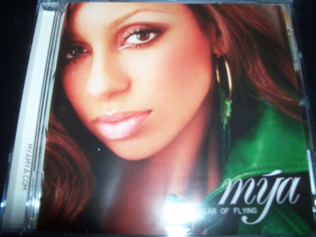 Mya Fear Of Flying (ft Free & Case Of The EX) Australia CD - Like New