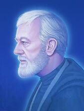 Mike Mitchell Star Wars Portrait OBI WAN KENOBI Mondo Acme Archive Print Poster