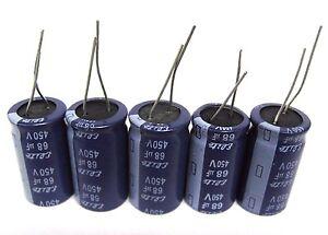 50x 82uF 450V Electrolytic Capacitors 450V 82uF Volume 12x50 mm