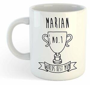 Marian - Monde Meilleure Maman Trophy Tasse - Pour Cadeau De Fête Des Mères , Sogenofc-07234331-357215927