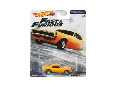 Hot Wheels Chevy Camaro 1967 Fast and Furious GBW75-956C 1//64