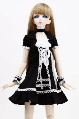 PF 129# Black Dress Suit Suit 1//3 SD DOD DZ BJD Dollfie Doll