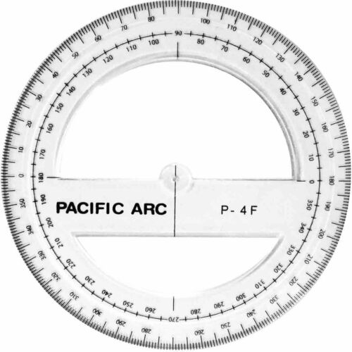 Protractor 360 Degree Assorted Sizes
