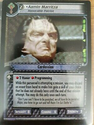 Conn Officer 4U150 Star Trek CCG 2E Necessary Evil Worf
