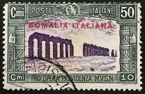 Italy-Somalia-Sassone-n-141-used