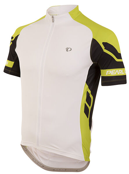 Pearl Izumi 2016 Elite Bike Cycling bike Bicycle Jersey White Lime Punch - Large