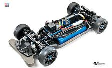 Tamiya 1:10 RC TT-02R Chassis Kit Tuning- Bausatz, neue Version 47326