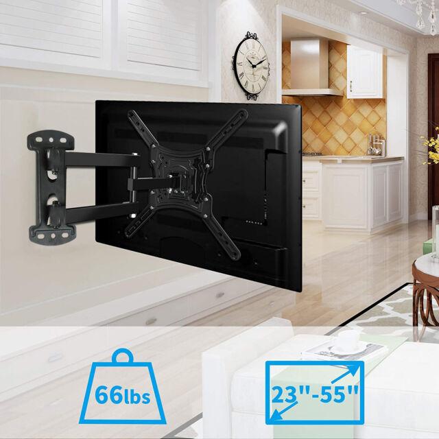 """Full Motion Swivel TV Wall Mount for Samsung LG Sony 32 40 50 51 52 55 56/"""" LED"""