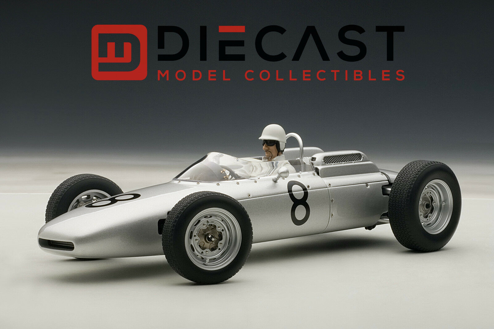 Autoart 86274 Porsche 804 Fórmula 1 1 1 Jo Bonnier nurburgring W   conductor 1  18 022