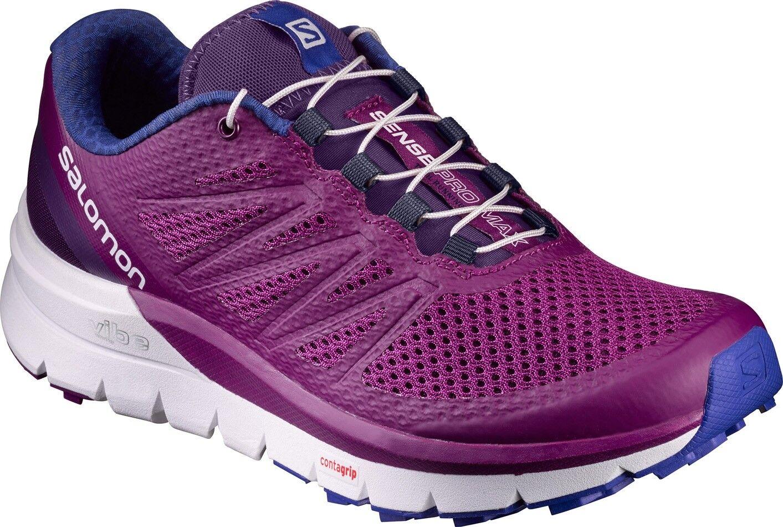 Salomon Sense Pro Max Womens Trail Running shoes - Purple   big sale