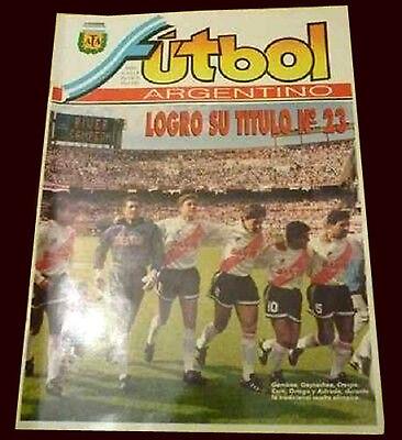 River Plate Champion 1993 Rare Afa Argentina Football Magazine Poster Ebay