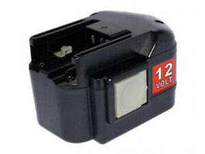 TWO 12V 2A Ni-MH Battery for AEG BBS 12 KX RAPTOR,BSB 12 STX,SB2E 12 T Super