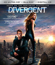 Divergent (4K Ultra HD Blu-ray, 2016, 4K Ultra HD Blu-ray/Blu-ray)