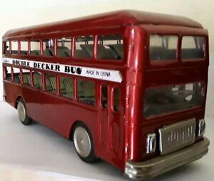 Ernst Blechauto Mf 185 Double Decker Bus Doppeldecker 27 Cm Autos & Busse Blechspielzeug Made In China SpäTester Style-Online-Verkauf Von 2019 50%