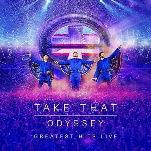 TAKE-THAT-ODYSSEY-GREATEST-HITS-LIVE-BLU-RAY-DVD-Region-2