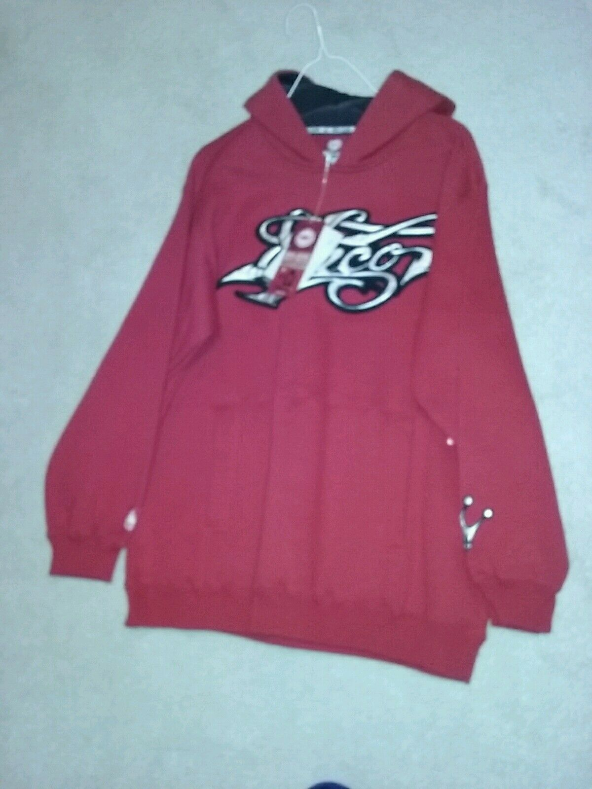 18b65652 Vintage Jnco Hoodie - Crown on Sleeve - New w Tags - JNCO Signature color -