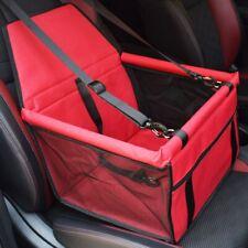 Cubierta de asiento de coche de perro de viaje plegable Hamaca Pet Carriers Bolsa Transporte Gatos Perros