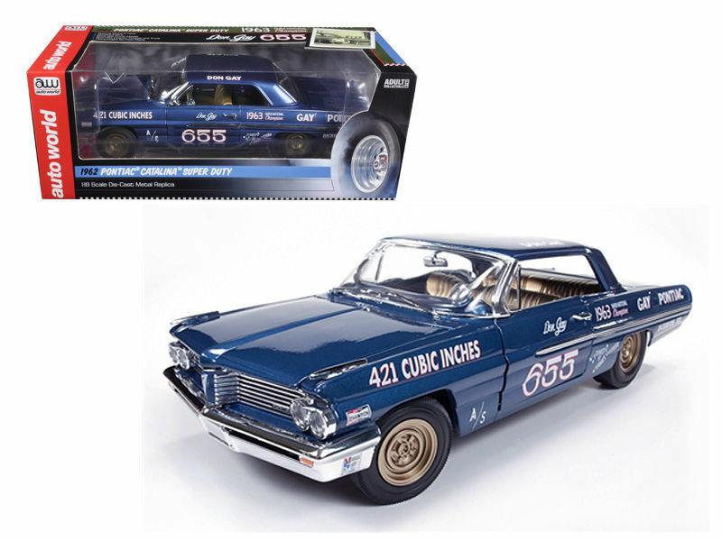 1 18  1962 Pontiac Catalina 421 SC Don Gay's,