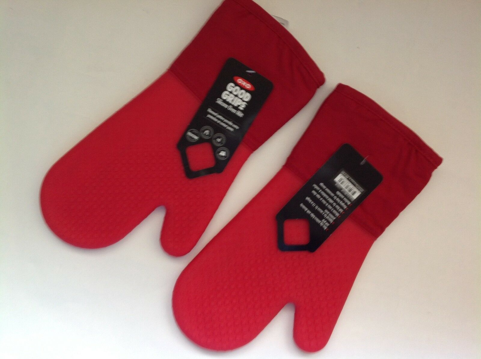 NEUF OXO GOOD GRIPS SET de 2 maniques-Rouge