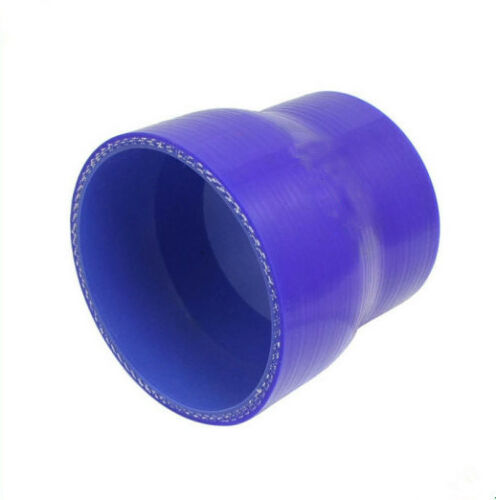 "ID 2.25/"" to 3/'/' 57mm//76mm Silicone Straight Reducer Intercooler Turbo Hoses Blue"