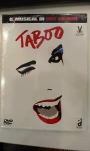 Taboo-Il-Musical-Di-Boy-George-Edizione-Deluxe-3-Dvd-Nuovo-e-Sigillato