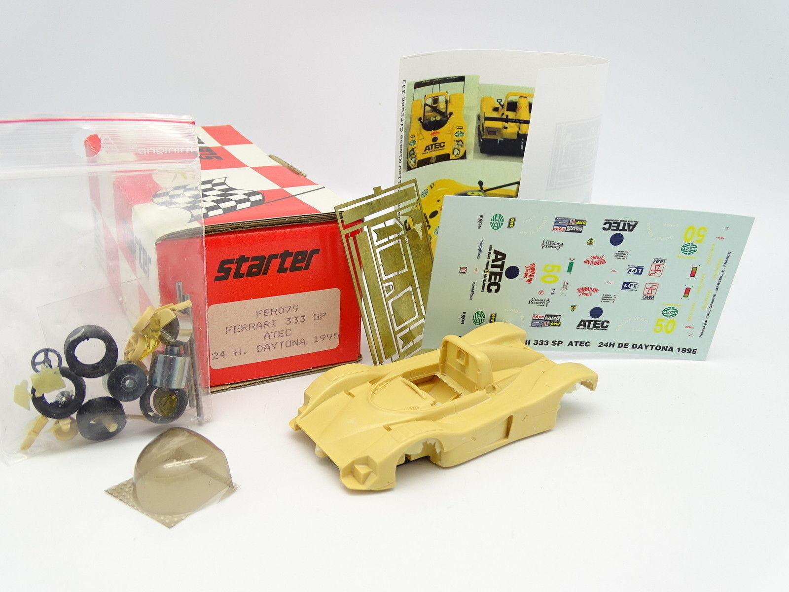 Starter Kit to assemble 1 43 43 43 - Ferrari 333 SP ATEC Daytona 1995 e62a2b