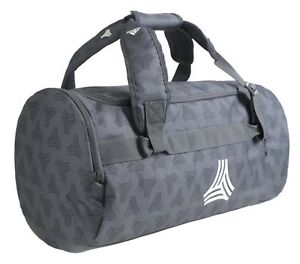 be44e68cd3 Image is loading Adidas-Football-Street-Duffel-Bags-Running-Gray-GYM-
