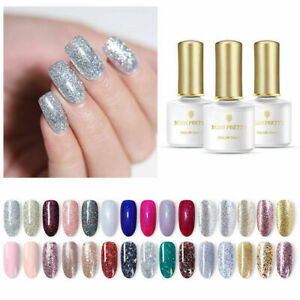 BORN-PRETTY-Glitter-UV-Gel-Nagellack-UV-LED-Soak-Off-Manikuere-Gel-Naegel-Lack