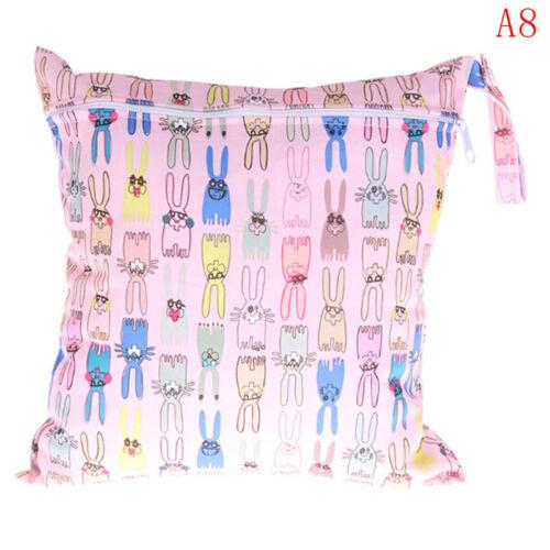Wet bag washable reusable cloth diaper nappies bags waterproof bag neUV