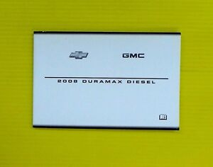08 2008 chevrolet gmc duramax diesel manual supplement ebay rh ebay com 2008 duramax diesel supplement manual pdf 2008 duramax diesel supplement manual