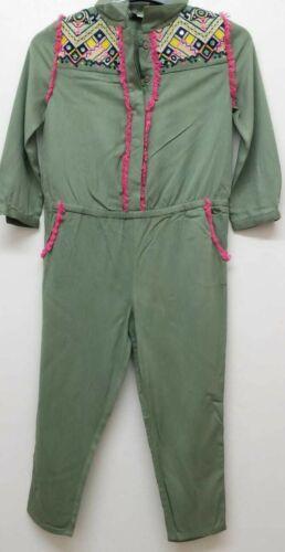 NEW RRP £41 Wild /& Gorgeous Kids Khaki Himalaya Jumpsuit U9-3
