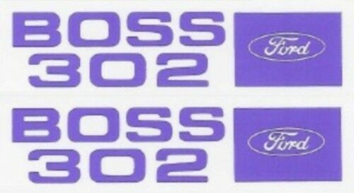 Ford 1969-70 BOSS 302 Valve Cover Decal Set