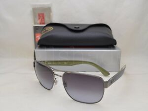 e9086c085caec Ray Ban RB3530 (RB3530-004 8G 58) Gunmetal with Gray Gradient Lens ...