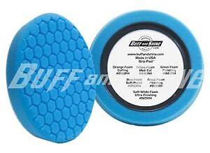 Buff-and-Shine-8-034-Blue-Soft-Polishing-Center-Ring-Foam-Buffing-Pad-850RH