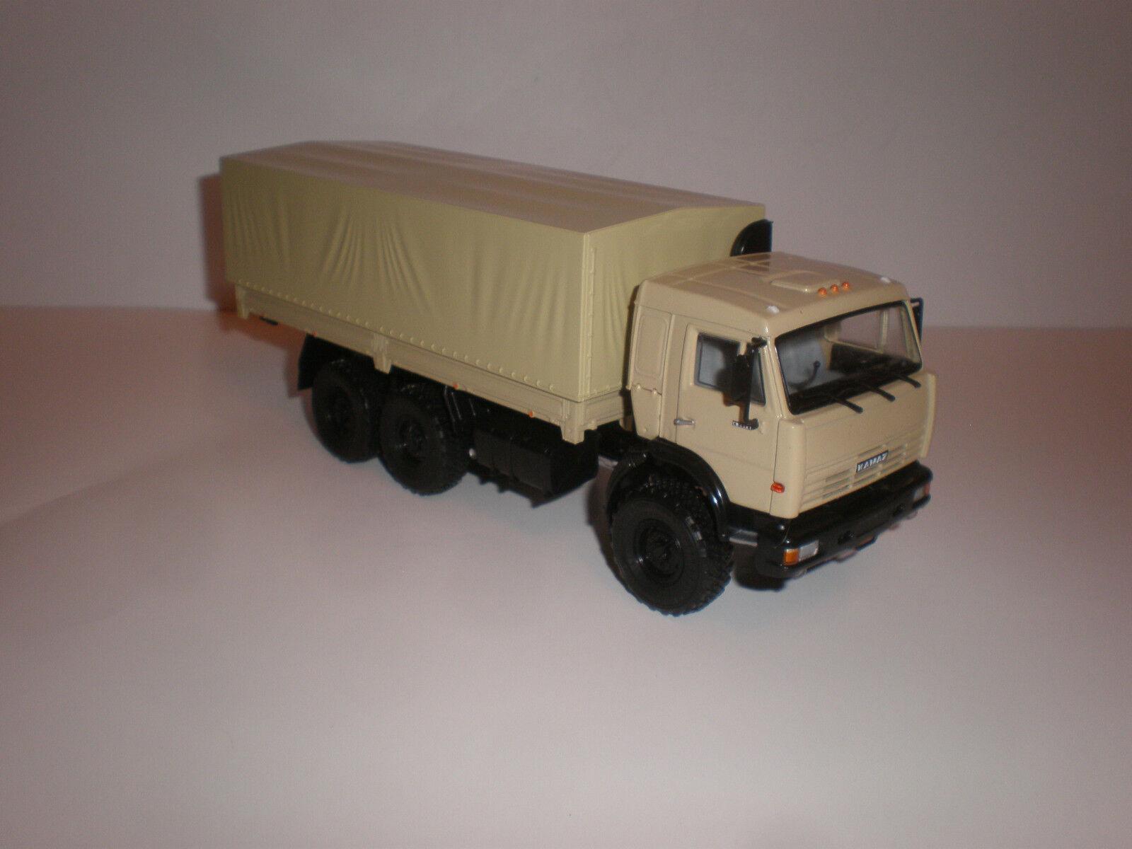 1 43 camión ruso Kamaz - 43118 Modelo De Distribuidor