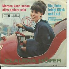 7'Claudia Höfer  Die Liebe bringt Glück und Leid/Morgen..  RAR!!!  Metronome