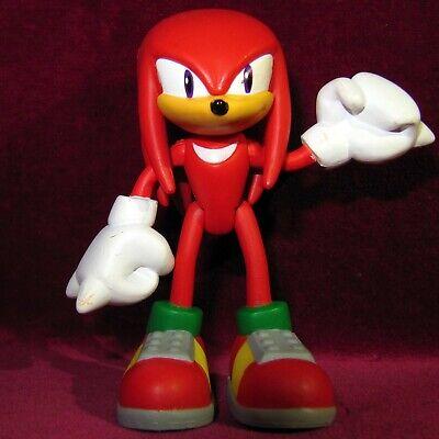3 8cm Knuckles The Echidna Figure Toy Tomy Modern Jointed Sega Sonic Hedgehog Ebay