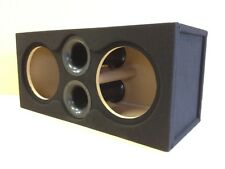 "Custom Ported Sub Box Enclosure for 2 12"" Massive Audio HIPPO-112 5.0 CU FT 32hz"